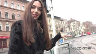 Seductive Russian Mother Picked Up In Outdoor