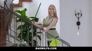 Badmilfs – Stepdaughter and Sexy Milf Share a Big Dick